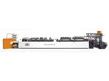 SLZD-B400/500/600 Three side Sealing Center Sealing Dualuse High SpeedBag-making Machine